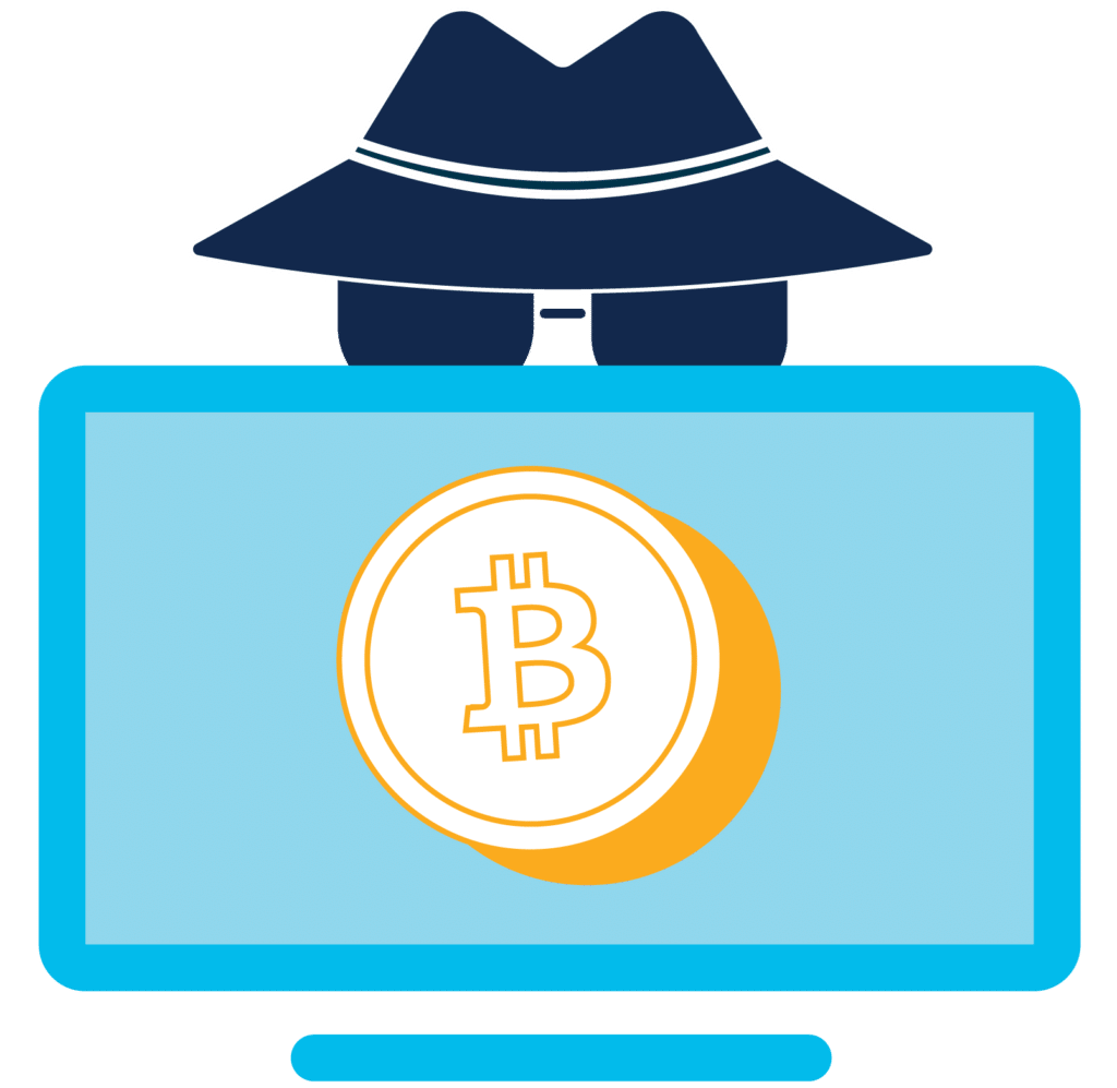 cryptomining graphic