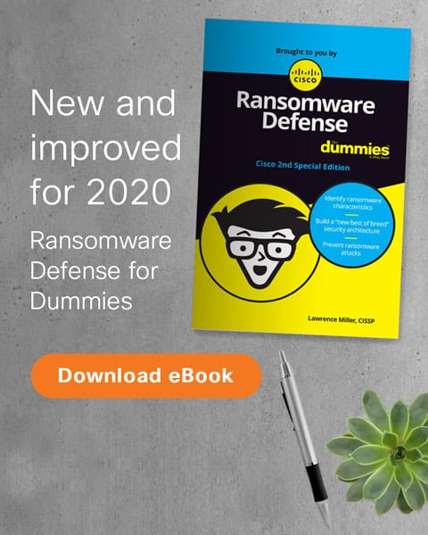 Ransomware Defense for Dummies book