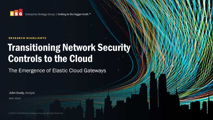 Transitioning Network Security Controls to the Cloud ebook cover