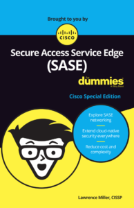 Secure access service edge - SASE for dummies ebook cover Cisco Umbrella Blog