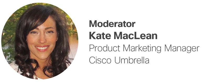 Moderator Kate MacLean