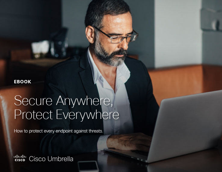 Secure Anywhere, Protect Everywhere ebook cover