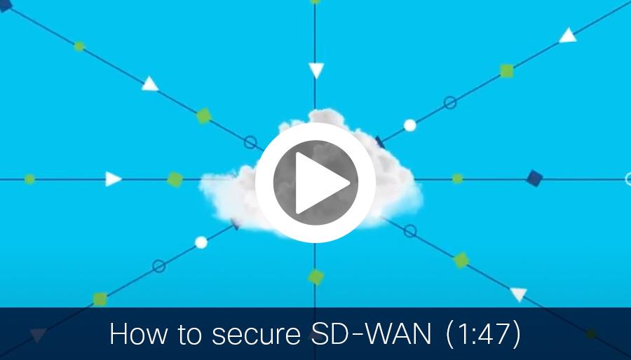SD-WAN security video (1:47)