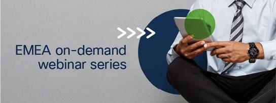 EMEA on-demand webinars