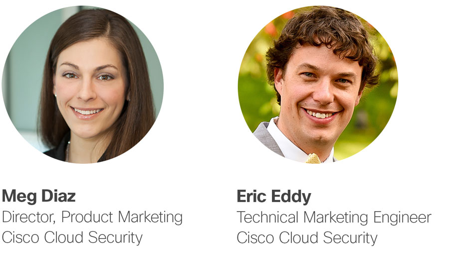 Speakers Meg Diaz and Eric Eddy