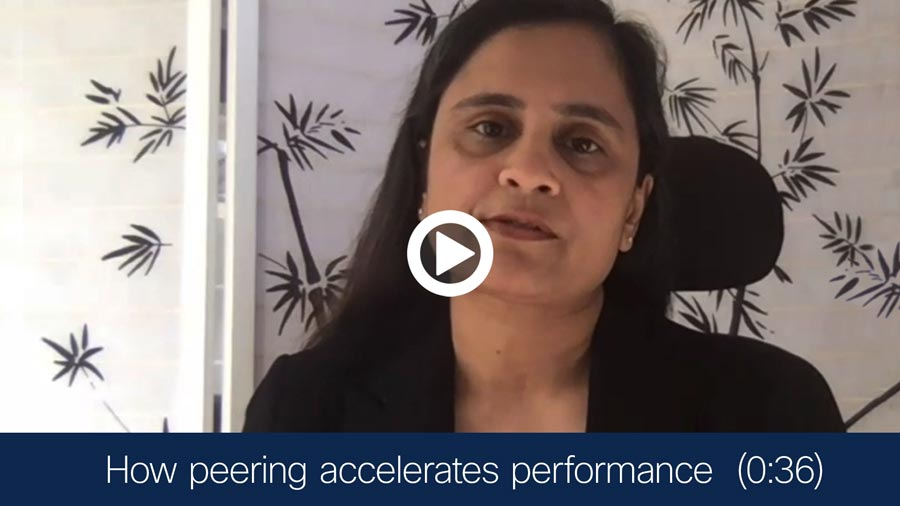 Video -how peering accelerates performance
