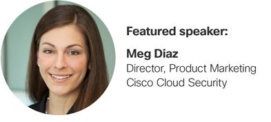 Featured speaker: Meg Diaz