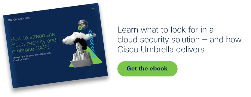 Learn what to look for in a cloud security solution - Get the ebook