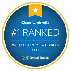 IT Central Station Web Security Gateways Award