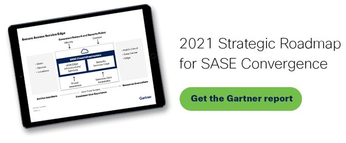Get the 2021 Gartner Report: Strategic Roadmap for SASE Convergence