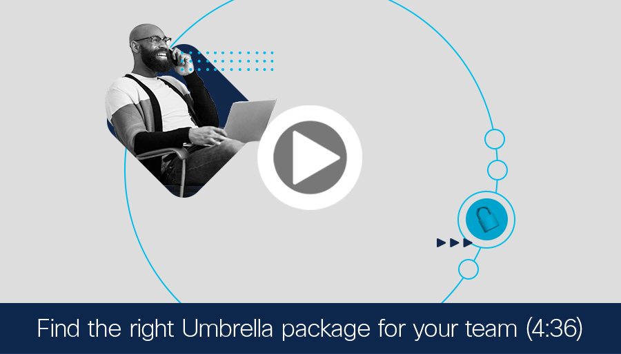 Video thumbnail preview for Umbrella packages comparison video