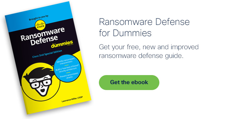 Get the Ransomware Defense for Dummies ebook